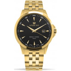 Athos Slim l'acier l'or noir Swiss Made