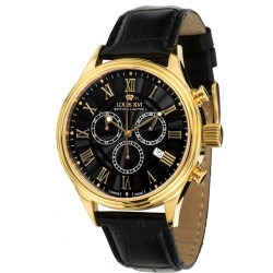 DANTON l'or noir Chronographe Swiss Made