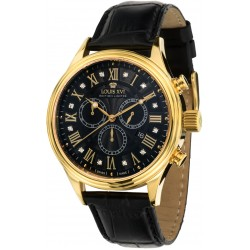 DANTON l'or noir diamant Chronographe Swiss Made
