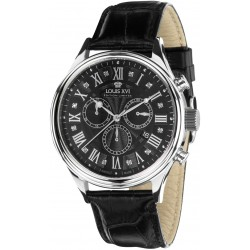 DANTON l'argent noir diamant Chronographe Swiss Made