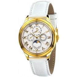 LA LUNE l'or blanc blanc saphir Swiss Made