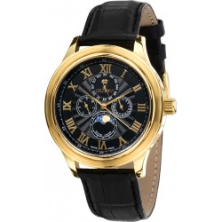 LA LUNE le Grand l'or noir saphir Swiss Made