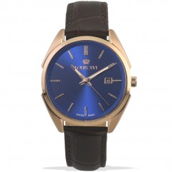 Le Voyage l'or rose bleu Swiss Made