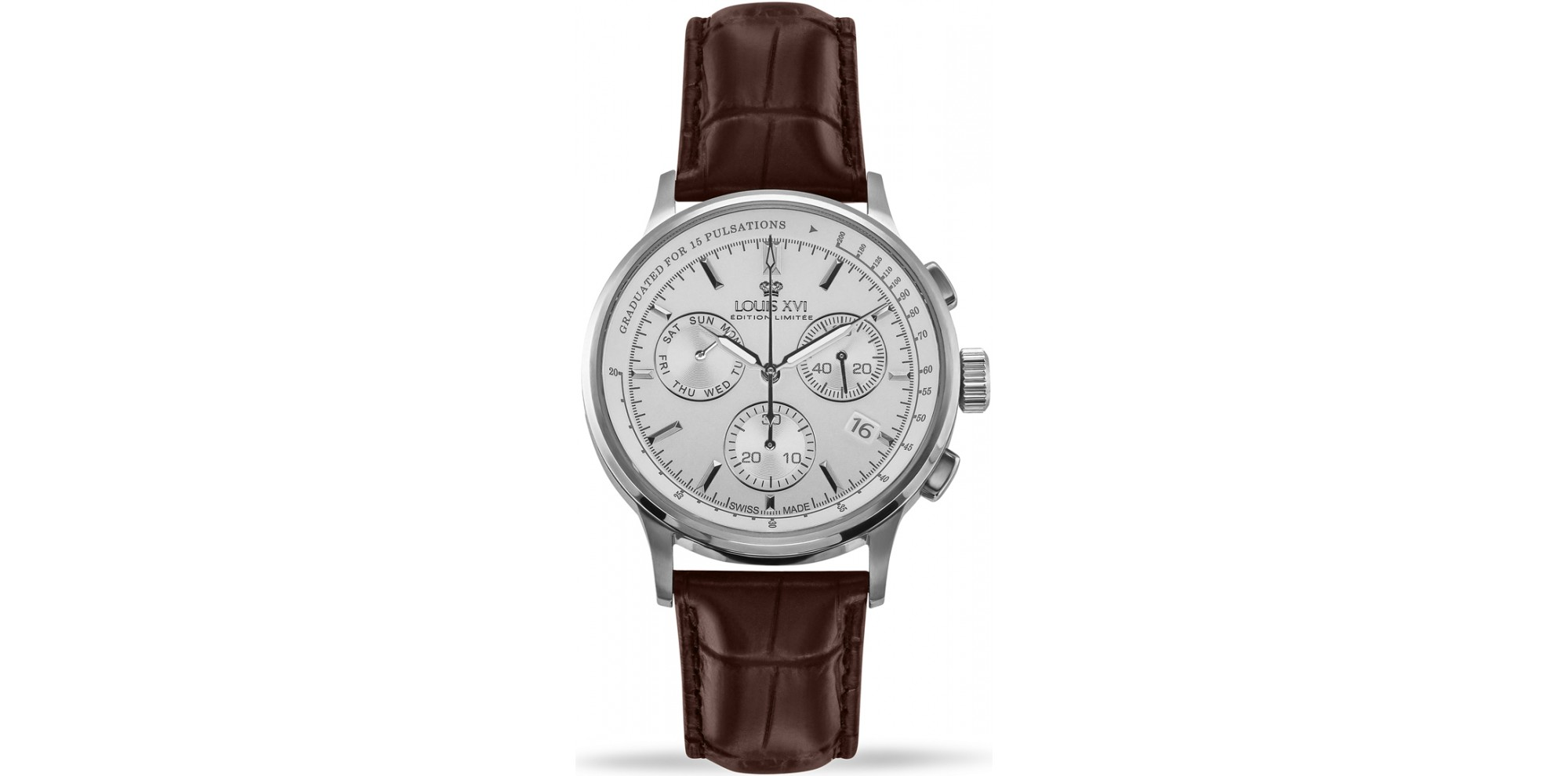 Monseigneur l'argent blanc Swiss Made