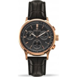 Monseigneur l'or rose noir Swiss Made
