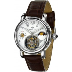 TOURBILLON LADY DE WINTER l'argent blanc saphir
