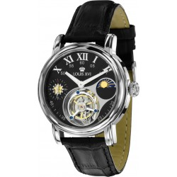 TOURBILLON LADY DE WINTER l'argent noir saphir